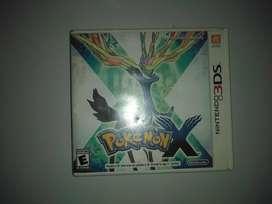"""Vendo Pokémon """"X"""" Nintendo 3DS"""