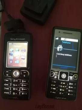 Blackberry z30 sony erccson w200 y sony Ericson c510