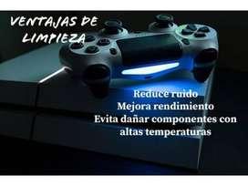 Mantenimiento Completo + Cambio De Pasta para Playstation 2 / 3 / 4 (Tambien PC)