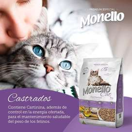 Monello Cat castrados - 10 kg