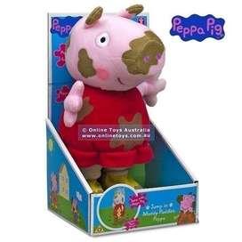 Peluche Peppa Pig Saltarina