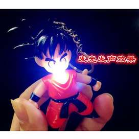 Llavero Goku Dragon Ball con luz Led y Sonido