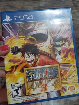 Juego play 4 One piece