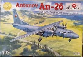 1/72 Avion Antonov An 26 Tanque Mirage Diecast Auto Hercules