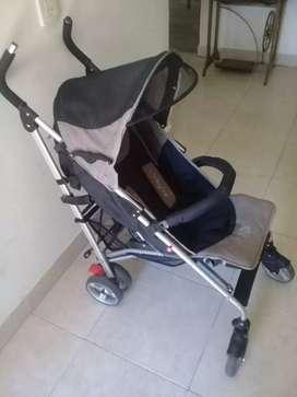 Carrito cochesito de bebe aluminio Baby one