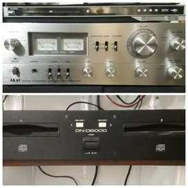 Vendo o permuto Equipos de audio en buen estado.