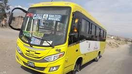 Vendo la unidad transporte público 27 pasajeros carrocería intranet