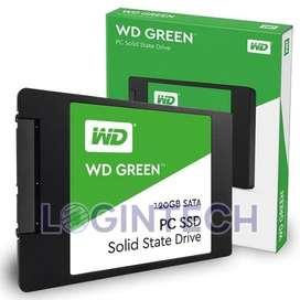 Disco Duro Solido SSD 120GB Laptop Pc Western Digital