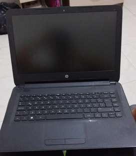 Computador portátil HP e impresora