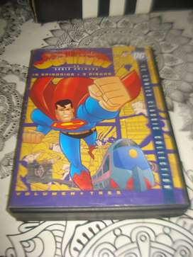 Superman La Serie Animada 18 Episodio 3 Discos Orig No Envio