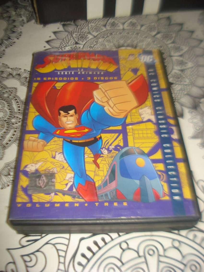 Superman La Serie Animada 18 Episodio 3 Discos Orig No Envio