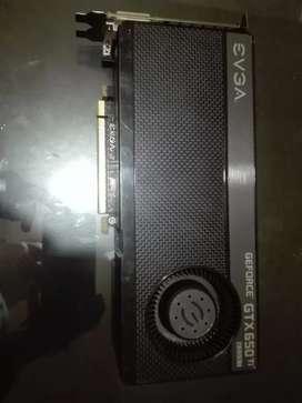 Vendo o cambio GTX 650 ti boost