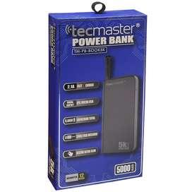 Cargador Portatil Powerbank Tecmaster 5.000 Mah
