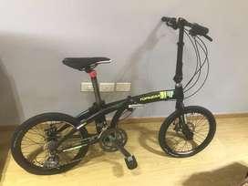 Bicicleta Plegable Top Mega