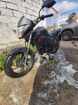Moto honda CB125F semi nueva