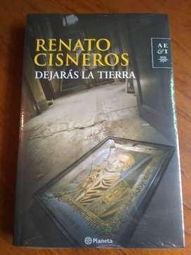 Dejarás la tierra - Renato Cisneros (sellado)