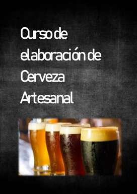 Curso de elaboración de cerveza artesanal + certificado