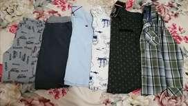 Combo de ropa para niño talla 8-10 años.