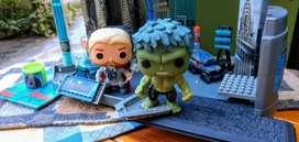 Oportunidad!! set genial Thor y Hulk los dos por