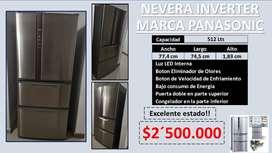NEVERA INVERTER MARCA PANASONIC