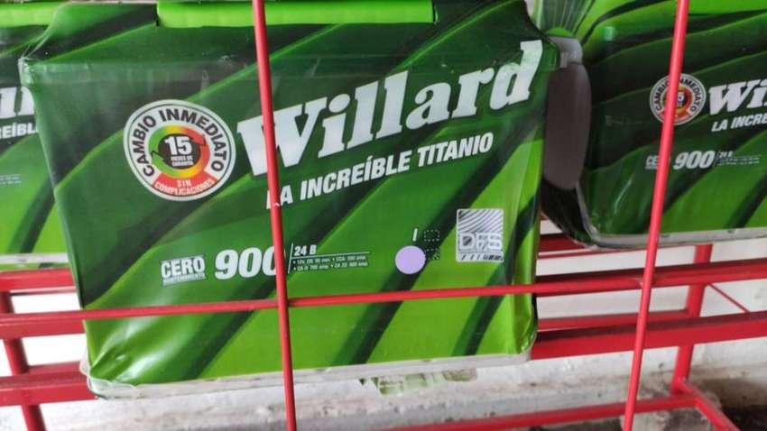 BATERÍAS WILLARD TITANIO 900AMP GARANTÍA TOTAL DOMICILIO E INSTALACIÓN GRATIS 0
