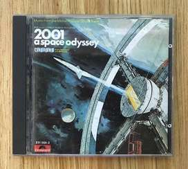 2001 A Space Odyssey Soundtrack Motion Picture CD Original