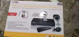 Vendo DVR con 2 cámaras expandible para 4