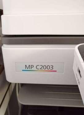 Impresora ricoh mp c2003