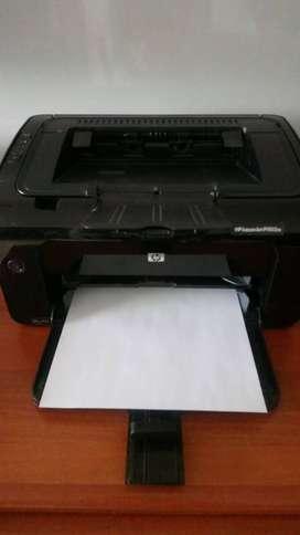 Vendo Impresora HP Laserjet P1102W
