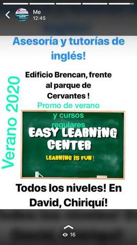 English Courses... Summer Time! 2020