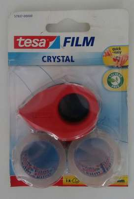 OFERTA EN CINTAS DISPENSADOR TESA FILM CRYSTAL 10 X 19 mm