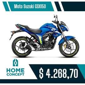 Moto Suzuki modelo GSX150GP , 5 velocidades