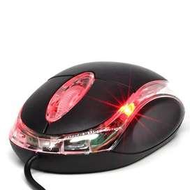 MINI MOUSE JALTECH USB LED