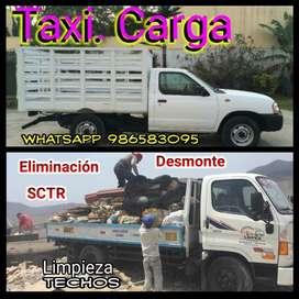 Eliminacion D Desmonte. Transporte Carga