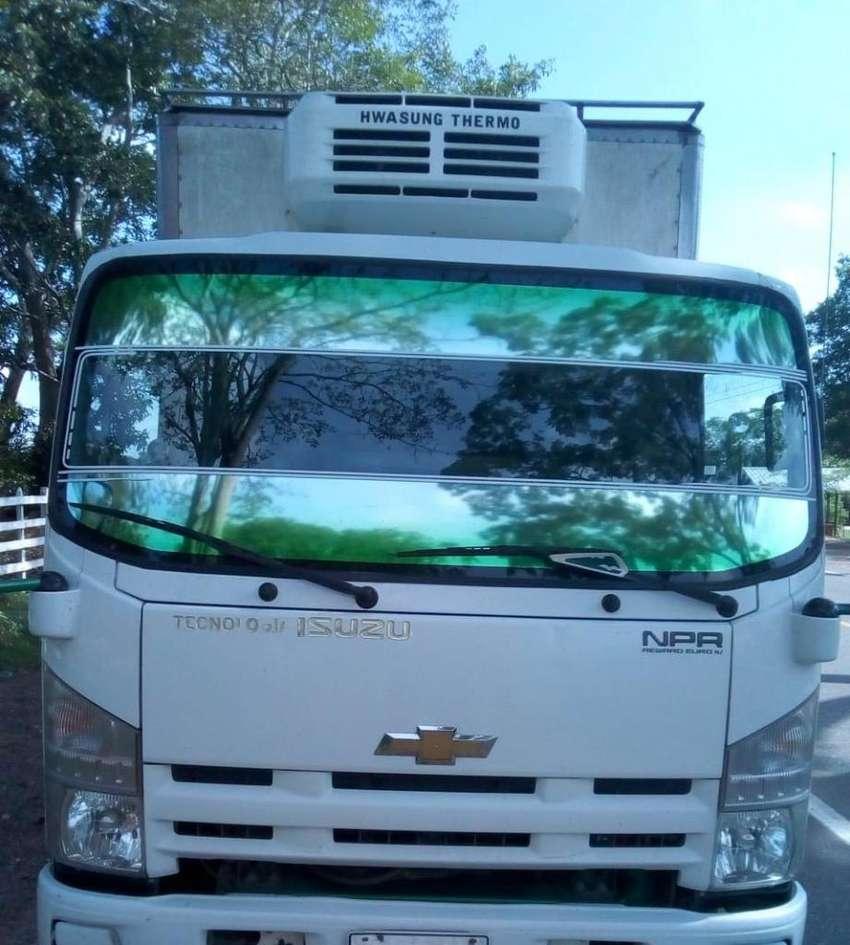 Camion Npr 2016 Refrigerado 0