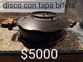 DISCO CON TAPA BIFERA