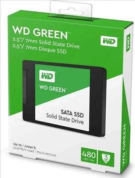 WD Green SSD sata 2.5 480 GB interno PC