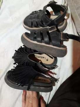 Vendo sandalias casi nuevas