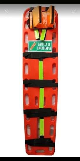 Camilla con inmovilizador nueva soporte y señal