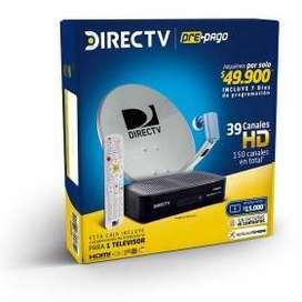 Directv prepago venta e instalación