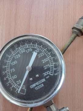Manometro para medir compresion motor