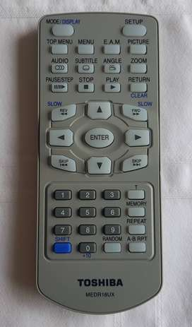 Control Remoto DVD (Toshiba MEDR16UX)