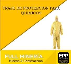 TRAJE DE PROTECCION PARA QUIMICOS