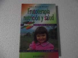 Frutoterapia Nutrición Y Salud, Con Plantas Medicinal. Libro