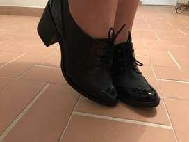 Botin negro para mujer - talla 37