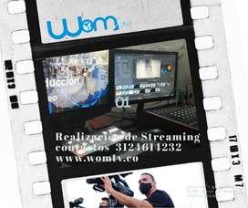 Realizacion de streaming para redes sociales
