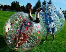 Pelotas inflables burbuja para fútbol, de choque - pelota gigante inflable de colores
