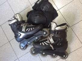 Rollers con rodilleras