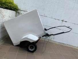 Vendo trailer para moto