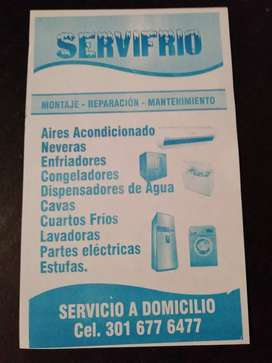 Reparaciones técnicas de electrodoméstico a domicilio